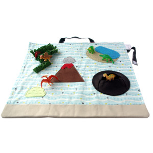 Dinosaur Toys for Kids Play Mat
