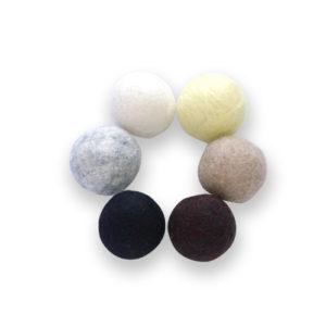 Wool Felt Balls Monochrome Toy
