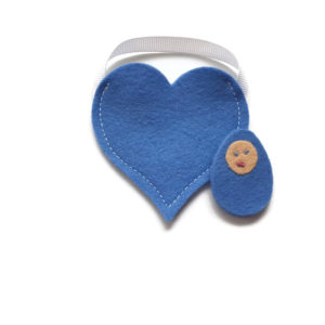 Waldorf Pocket Doll - Blue