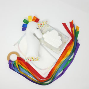 Rainbow Baby Unicorn Gift Set - web